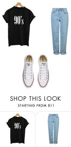 """""""Tumblr Outfit"""" by muskan5sos on Polyvore featuring Topshop and Converse"""