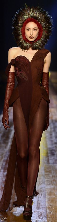 Fall 2016 Haute Couture - Jean Paul Gaultier