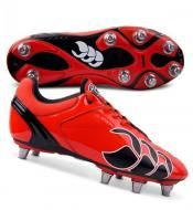 The Canterbury Phoenix Club Rugby Boots in Red/Black are versatile, lightweight boots with durable properties making them ideal for year-round rugby.      Medium last, suitable for all positions. http://www.rugbystuff.com/rugby-boots/brand/canterbury/phoenix-club-rugby-boots-red/black/prod_3637.html