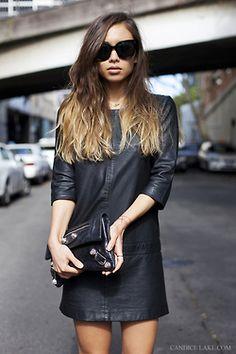 Ombré & Leather