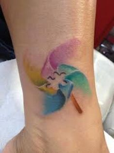 water color autism tattoo..I would love for this to be different shades of purple and be a seizure awareness tattoo!! WANT!