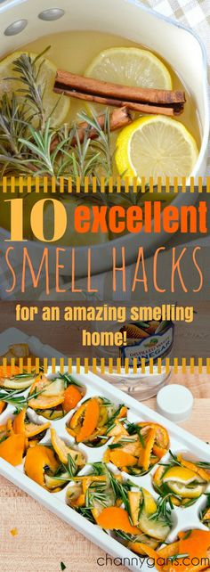 My home has never smelled better! These smell hacks are awesome!