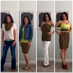 The many ways to wear a Cassie skirt from LuLaRoe. So versatile!