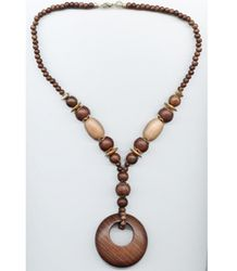 32. wooden necklace (need)