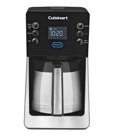 Cuisinart Black PerfecTemp 12-Cup Programmable Coffeemaker & Thermal Carafe | zulily