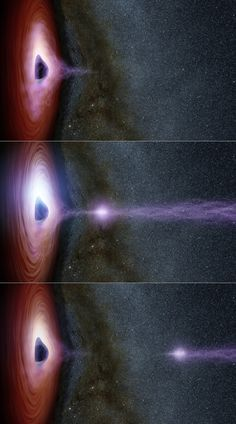 Astronomers are dragging the inner workings of black holes out into the light. By studying a supermassive black hole called Markarian 335 (Mrk 335), which is found 324 million light-years away from Earth, astronomers hope to better grasp how black holes work and why they erupt. Using these observations, astronomers created illustrations (above) to demonstrate how a corona, a shifting feature, can generate a flare of X-rays around a black hole. (NASA/JPL-Caltech/ESA/DLR/FU Berlin/MSSS)