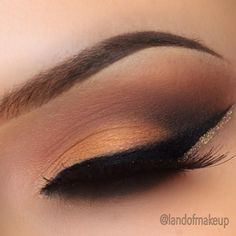 Love the peach - perfect for brown eyes!