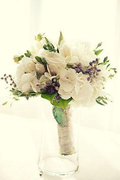 Veux-tu me bloguer ?! - De l'hortensia blanc dans votre bouquet de mariage