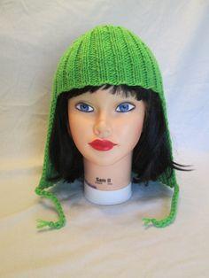 Womans  Hat Hair Knit Wig women winter hats READY by Ritaknitsall, $35.00