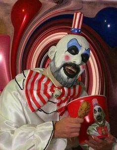 "Captain Spaulding (Sid Haig) from Rob Zombie's ""House of 1000 Corpses"" & ""The Devils Rejects""!"