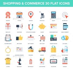 Shopping Icons — JPG Image #icon #money • Available here → https://graphicriver.net/item/shopping-icons/9555943?ref=pxcr