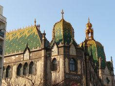 Iparművészeti Múzeum kupolája/      Cupola of Museum of Applied Arts