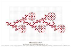 Semne Cusute: MOTIVE: floarea macului (P22, M17)