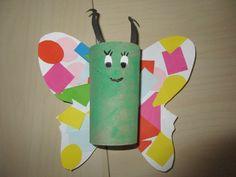 Motýl z ruličky