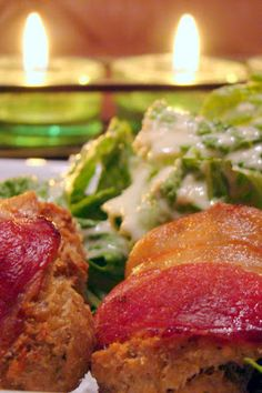 Nourished and Nurtured: Bacon-wrapped Salmon Cakes with Tartar Sauce (GAPS-legal, gluten- and grain-free)