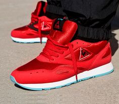24 Kilates x Le Coq Sportif Flash – Red / White – Blue