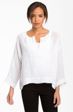 White linen Blouse T Shirt White Shirt Women Girl by fashiondress6 ...