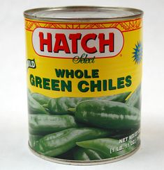Always have a few cans of Hatch New Mexico Green Chile in the pantry. Secret ingredient in queso, chicken dishes, breakfast tacos, beans, and these add taste not just heat!