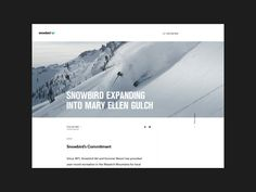 Playing around with the blog for snowbird.com  Check out the full pixels.