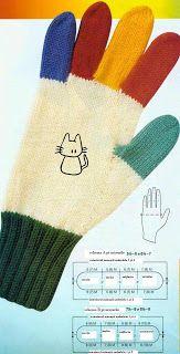 kora-knitcrochet: mănuşi tricotate