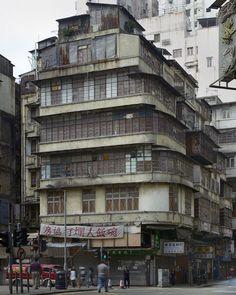 Michael Wolf Photography | Corner Houses: Corner12 Cyberpunk Anime, Walled City, Old Buildings, Hong Kong, Michael Wolf, Wolf Photography, Corner House, Anime City, Slums
