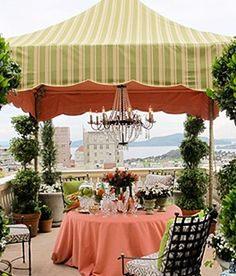Rooftop Terrace Dining