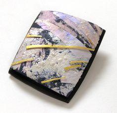 Cygnii2 Tory Hughes©2012 Polymer, acrylic, gold
