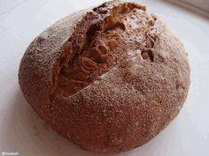 Mixed whole wheat flour spring onion bread