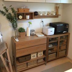Kitchen/無印良品/ナチュラル/IKEA/ウォールステッカー/セリア...などのインテリア実例 - 2015-11-03 23:35:20|RoomClip (ルームクリップ)
