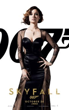 SKYFALL 007- must have this dress...! In my dreams at least... :-)