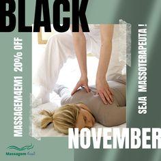 Esse é o melhor momento do ano! Começou o BLACK NOVEMBER! Veja os valores dos cursos de massagem que você pode fazer com desconto especial de 20%: MASSAGEM4EM1 : de R$ 297 por R$ 237,60 DRENAGEM LINFÁTICA : de R$ 97 por R$ 77,60 RELAXANTE PRÓ : de R$ 97 por R$ 77,60 OUVINDO OS FLORAIS DE BACH : de R$ 297 por R$ 237,60 Oportunidade imperdível para entrar na carreira de Massoterapia. #chamenowhatsup 12-99201-0500 e fale com Elaine ou click no blog e saiba tudo sobre os cursos.