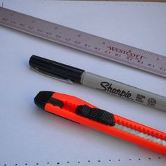 How to measure and cut paper strips for paper bead making