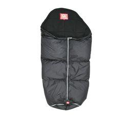 Black sleeping bag for strollers and prams