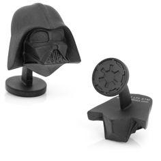 Star Wars: 3D Darth Vader Cufflinks