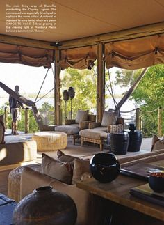 DumaTau Camp - northern Botswana. (hope to visit next time in Botswana)