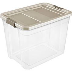 Sterilite 45 gallon 180 quart wheeled latch storage box for Garage totes 76