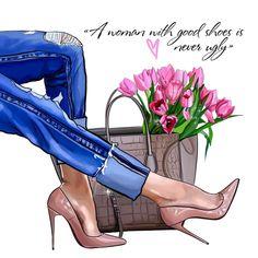 Illustration Fashion 632 Likes, 13 Comments - Anastasia Kosyanova (Nastya Kosyanova . Fashion Quotes, Fashion Art, Trendy Fashion, Girl Fashion, Fashion Design, Ootd Fashion, Fashion Ideas, Slingback Chanel, Espadrilles Chanel
