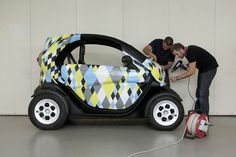 Renault Twizy for Pablo Picasso #art #motors #cars