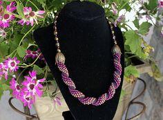 Spiral Bead Crochet Rope