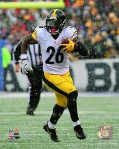 Le'Veon Bell 2016 Action Photo Print (8 x 10)