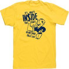 2441ce23 Custom T-shirt Designs Tees High School It's What's Inside that Counts FBLA  Business Club