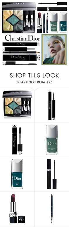 """""""It's Dior, Darling!"""" by rasa-j ❤ liked on Polyvore featuring beauty, Christian Dior, Dior and beautyset"""