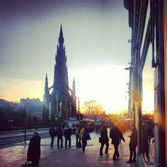 Princes Street in Edinburgh, Edinburgh