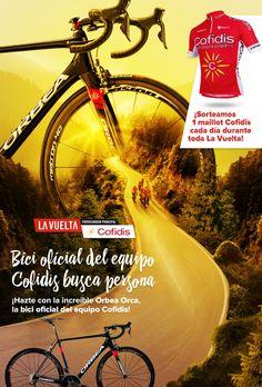 ¡Participa en el concurso de Cofidis Likes Ciclismo y podrás ganar una bici la Orbea Orca del Equipo Cofidis!