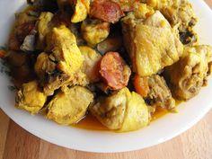 Caril de frango | As receitas lá de casa