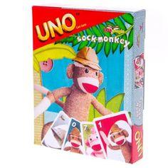 OMG!!!!!!! Sock Monkey UNO Game