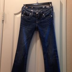 Miss me jeans Boot cut with beautiful design on pocket Miss Me Jeans Boot Cut