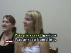 Es izjāju prūšu zemi - Latvian folk song with words written out, translation in the comments of the video.