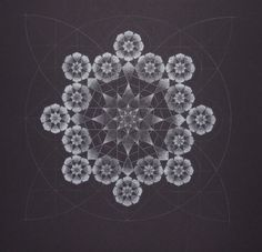 Islamic-inspired geometric art