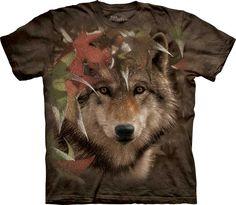 Lobo en otoño. #3298